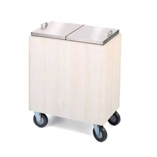 Forbes Industries 4420 Ice Restocking Cart, Standard, Insulated, High Pressure Laminate, Stainless S - Forbes Industries - 4420
