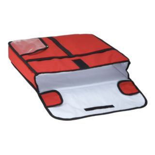 "Winco BGPZ-20 Red 20"" x 20"" x 5"" Pizza Delivery Bag - Winco - BGPZ-20"