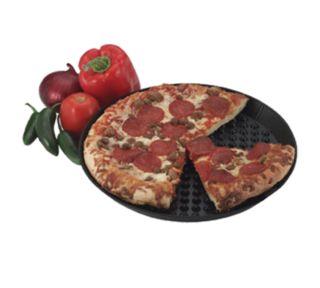Hs Inc. HS1037-CH 10-Round Pizza Pleezer, Microwavable, Polypropylene, Charcoal - HS Inc. - HS1037-CH