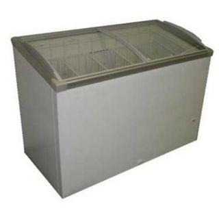 Alamo Refrigeration FTHG7SGI (Thg 7Sgi) Angled Curved Top Refrigerator / Freezer Chest, 49-1/2